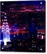 Beautiful Manhattan Skyline Acrylic Print