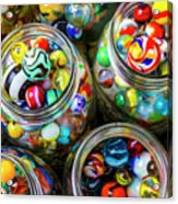 Beautiful Marble Collection Acrylic Print