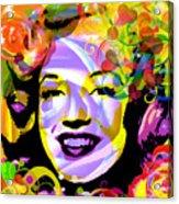 Beautiful Marilyn Monroe Acrylic Print