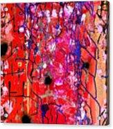 Beautiful Meltdown Acrylic Print