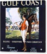 Beautiful Mississippi, Gulf Coast Acrylic Print