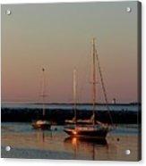 Beautiful Morning Provincetown Pier Acrylic Print
