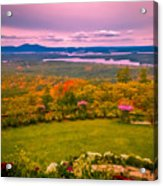 Beautiful Overview Of New Hampshire Acrylic Print
