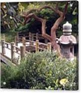 Beautiful Park In San Francisco Acrylic Print