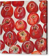 Beautiful Red Apples Acrylic Print