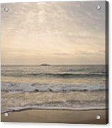 Beautiful Sand Beach Acrylic Print