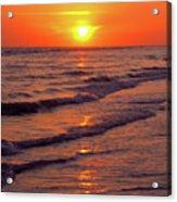 Beautiful Sanibel Sunset Acrylic Print