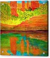 Beautiful Sedona Acrylic Print