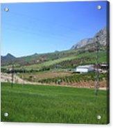 Beautiful Spanish Countryside Acrylic Print