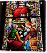 Beautiful Stained Glass At Emmanuel Church Baltimore # 5 Acrylic Print