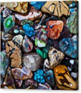 Beautiful Stones Acrylic Print by Garry Gay