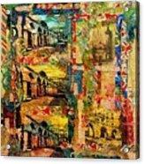Beautiful Sulmona Italy Acrylic Print