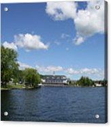 Beautiful Summerday At Lake Winnipesaukee Acrylic Print