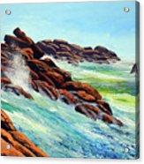 Beautiful Surf Acrylic Print