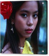 Beautiful Thai Girl Acrylic Print