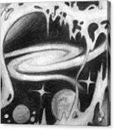 Beautiful Universe 2. Space Art Acrylic Print