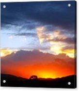 Beautiful Utah Sunset Acrylic Print