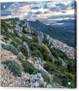Beautiful View Of Baunei Acrylic Print
