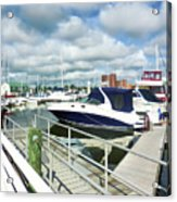 Beautiful View On The Elizabeth 7 Acrylic Print by Lanjee Chee