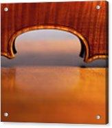Beautiful Violin Acrylic Print