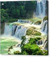 Beautiful Waterfall Crystal Waters Acrylic Print
