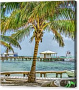 Beautifull Day In Paradise Acrylic Print