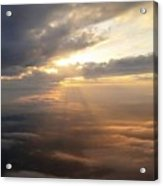 Beauty Above The Clouds Acrylic Print