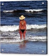 Beauty And The Beach Acrylic Print