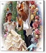Beauty And The Beast II Acrylic Print