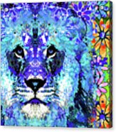 Beauty And The Beast - Lion Art - Sharon Cummings Acrylic Print