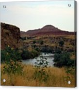 Beauty At The Big Horn River Acrylic Print