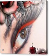 Beauty Beyond The Rose Acrylic Print