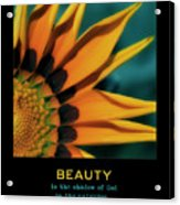 Beauty Acrylic Print