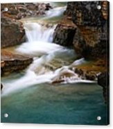 Beauty Creek Cascades Acrylic Print