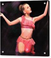 Beauty Dances Acrylic Print