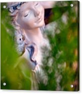 Beauty In The Ferns Acrylic Print