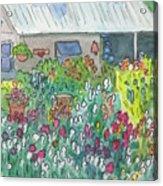 Beauty In The Garden Acrylic Print
