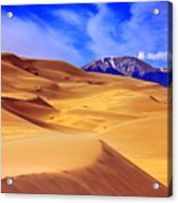Beauty Of The Dunes Acrylic Print