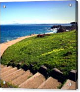 Beauty Of The Pacific Grove Shoreline Two Acrylic Print