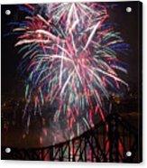 Beaver County Fireworks  Acrylic Print