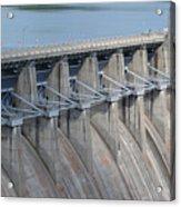 Beaver Dam Spillway Gates Acrylic Print