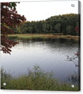 Beaver Lake With A Gentle Breeze Acrylic Print