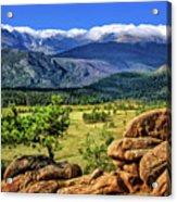 Beaver Meadows In Rocky Mountain National Park Acrylic Print