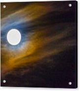 Beaver Moon Acrylic Print