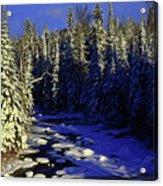 Beaver River Acrylic Print