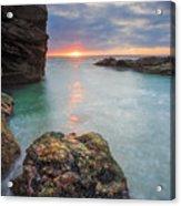 Beavertail Sunset Acrylic Print