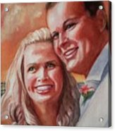 Becky And Chris Acrylic Print