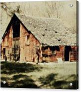 Beckys Barn 1 Acrylic Print