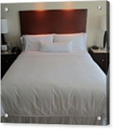Bed Acrylic Print