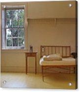 Bed - Infirmary - Fort Larned - Kansas Acrylic Print